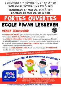 Diwan Lesneven - Portes ouvertes 2019 - français